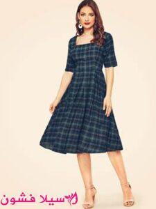 الفستان المربع من الستينيات