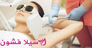 انواع اجهزة الليزر لازالة الشعر في العيادات
