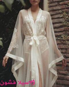 قمصان نوم عروسة 2021