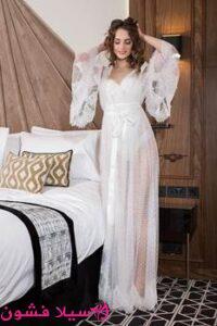 قميص نوم عروسة 2021